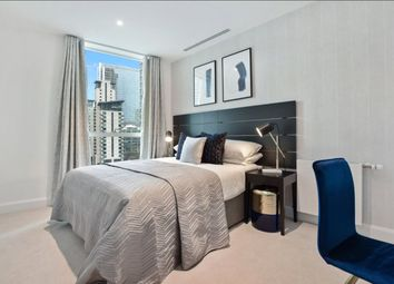 Thumbnail 2 bed flat for sale in Laker Court, 39 Harbour Way, London