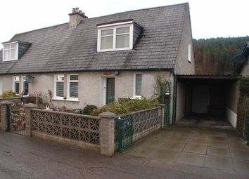 Thumbnail 3 bed semi-detached house for sale in County Houses, Fochabers, Moray