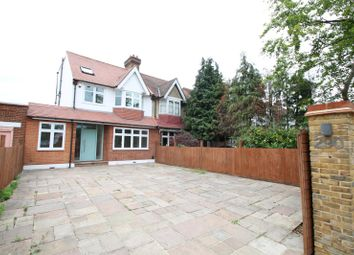 Thumbnail 4 bed semi-detached house to rent in Coombe Lane, London