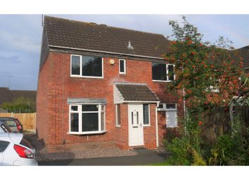 Thumbnail 3 bed end terrace house for sale in Edgeworth Close, Redditch