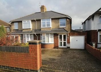 Thumbnail 3 bed semi-detached house for sale in Cricklade Road, Upper Stratton, Swindon