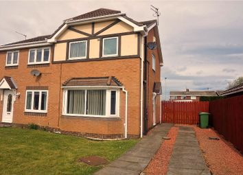 Thumbnail 2 bed semi-detached house for sale in Malvern Close, Ashington