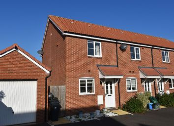 Thumbnail 2 bed end terrace house for sale in Higher Meadow, Cranbrook, Near Exeter