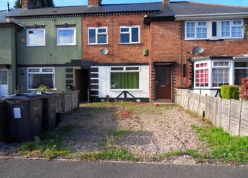Thumbnail 2 bed terraced house for sale in Bexley Road, Kingstanding, Birmingham