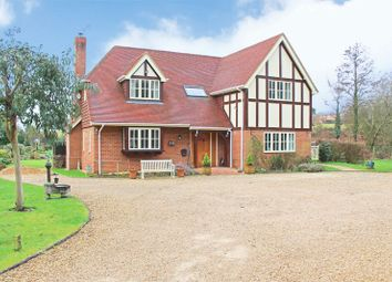 Thumbnail 4 bed detached house for sale in Salisbury Road, Sherfield English, Romsey