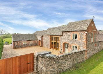 Thumbnail 4 bed barn conversion for sale in Rushey Lane, Woodhouse, Loughborough