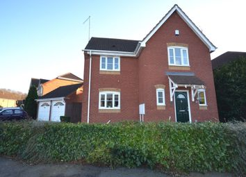 Thumbnail 3 bed detached house for sale in Harcourt Way, Hunsbury Hill, Northampton
