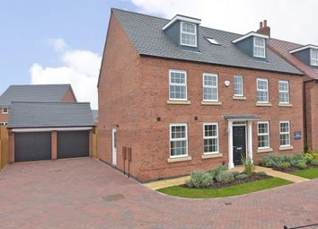 "Thumbnail 5 bed detached house for sale in ""Buckingham"" at Dunbar Way, Ashby-De-La-Zouch"