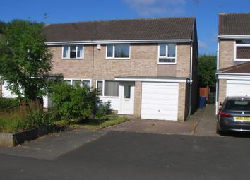 Thumbnail 3 bed semi-detached house for sale in Faversham Court, Gosforth