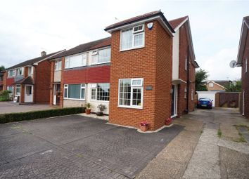 Thumbnail 4 bed semi-detached house for sale in Thong Lane, Gravesend, Kent