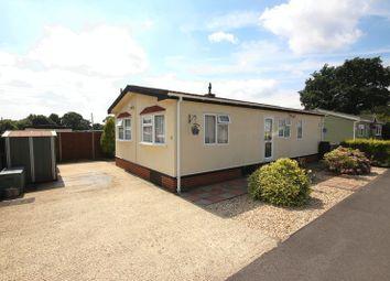 Thumbnail 2 bedroom mobile/park home for sale in Limekiln Lane Estate, Limekiln Lane, Holbury, Southampton