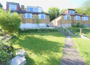 Thumbnail 3 bed semi-detached bungalow for sale in Princes Avenue, Chatham, Kent