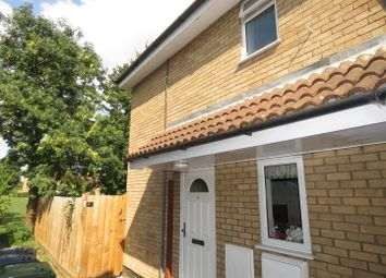 Thumbnail 1 bed terraced house to rent in Meadowsweet, Eaton Ford, St. Neots
