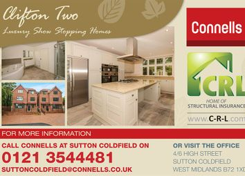 Thumbnail 6 bed detached house for sale in Station Approach, Sutton Trinity, Sutton Coldfield