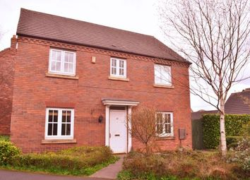 Thumbnail 4 bed detached house for sale in Walnut Walk, Lichfield, Staffordshire