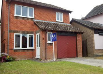 Thumbnail 3 bed detached house to rent in Admirals Way, Hethersett, Norwich