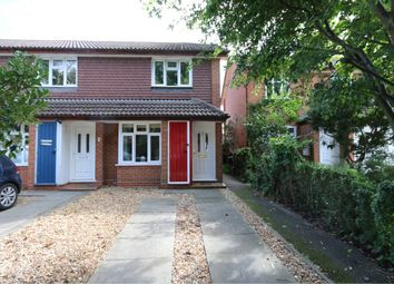 Thumbnail 2 bed end terrace house to rent in Mallard Close, Romsey