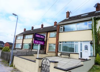 Thumbnail 3 bed terraced house for sale in Lisadell Drive, Bangor