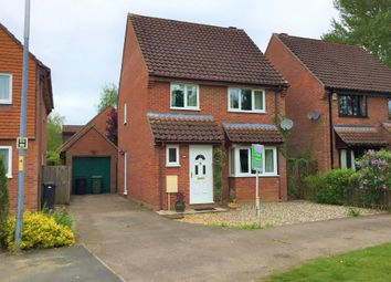 Thumbnail 3 bed detached house for sale in Marwood Close, Wymondham