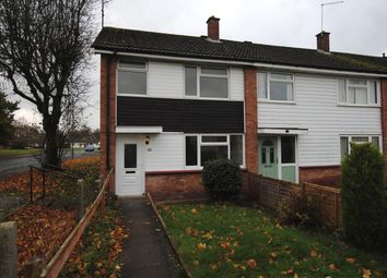 Thumbnail 3 bed end terrace house to rent in Hawthorn Way, Market Drayton