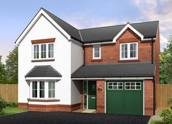 "Thumbnail 4 bedroom detached house for sale in ""Brampton"" at Croxton Lane, Middlewich"