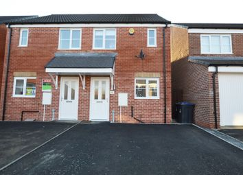 Thumbnail 2 bed semi-detached house for sale in Wooler Drive, The Middles, Stanley