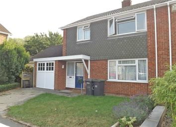 Thumbnail 3 bed semi-detached house for sale in Unwin Close, Aylesford, Kent