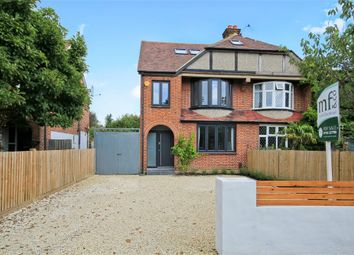 Thumbnail 5 bed semi-detached house for sale in Sidney Road, Walton-On-Thames