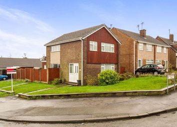 Thumbnail 3 bed detached house for sale in Coniston Road, Hucknall, Nottingham, Nottinghamshire