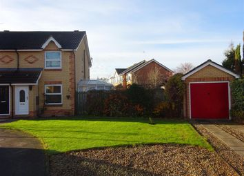 Thumbnail 2 bed semi-detached house for sale in Highgrove Close, Rawcliffe, York