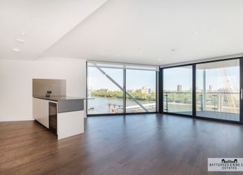 Thumbnail 3 bed flat to rent in Riverlight Quay, London
