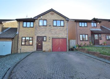 Thumbnail 4 bed link-detached house for sale in Priory Gardens, Barry