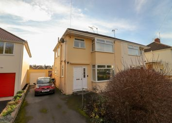 Thumbnail 3 bed semi-detached house for sale in Audley Avenue, Lower Weston, Bath