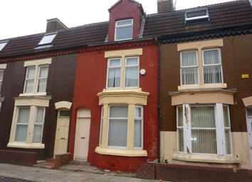 Thumbnail 4 bedroom terraced house to rent in St. Andrew Road, Anfield, Liverpool