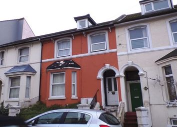 Thumbnail 3 bed flat to rent in Dover Road, Folkestone