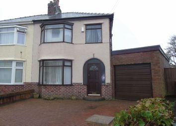 Thumbnail 3 bed semi-detached house for sale in Derwent Avenue, Prescot