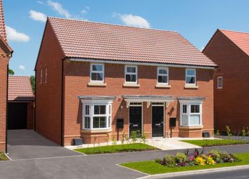 Thumbnail 3 bed semi-detached house for sale in Rush Lane, Market Drayton