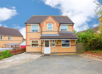 Thumbnail 4 bedroom detached house for sale in Gunnell Close, Kettering