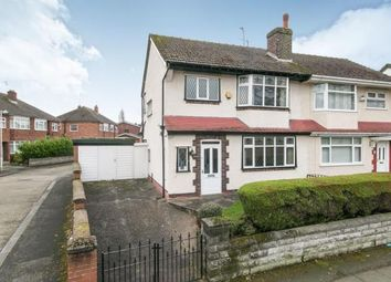 Thumbnail 3 bed semi-detached house for sale in Kirket Lane, Bebington, Wirral