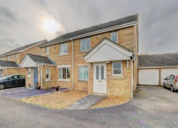 Thumbnail Semi-detached house for sale in Meadow Way, Mepal, Ely