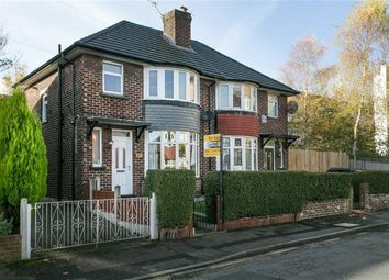 Thumbnail 3 bed semi-detached house for sale in Conway Avenue, Manchester