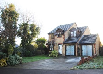 Thumbnail 4 bed detached house for sale in Dunsford Close, Swindon