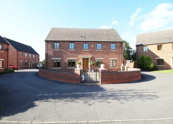 Thumbnail 4 bed detached house for sale in Sandy Hill Rise, Solihull, West Midlands