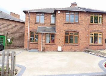 Thumbnail 3 bed semi-detached house for sale in Tamworth Road, Kettlebrook, Tamworth, Staffordshire