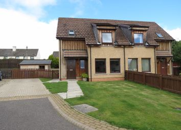 Thumbnail 2 bed semi-detached house for sale in Harbour View, Invergordon