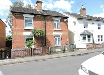 Thumbnail 2 bed semi-detached house for sale in Chertsey Road, Byfleet, Surrey