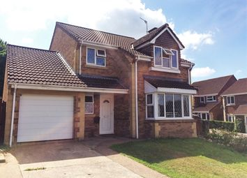 Thumbnail 4 bed detached house for sale in Hatcher Close, Honiton