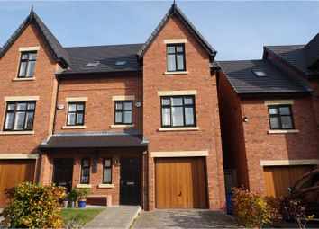 Thumbnail 4 bed semi-detached house for sale in The Moorings, Manchester