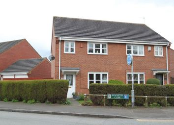 Thumbnail 3 bed semi-detached house for sale in Bannister Close, Stoke-On-Trent