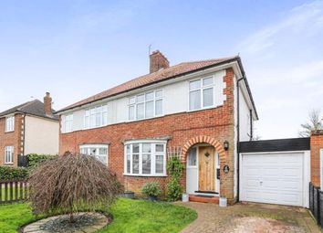 Thumbnail 3 bedroom semi-detached house for sale in Strathmore Avenue, Hitchin, Hertfordshire